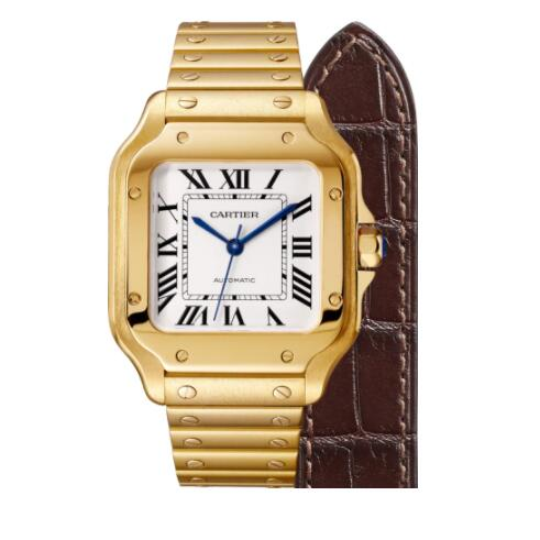 Replica Cartier Santos de Cartier watch WGSA0010