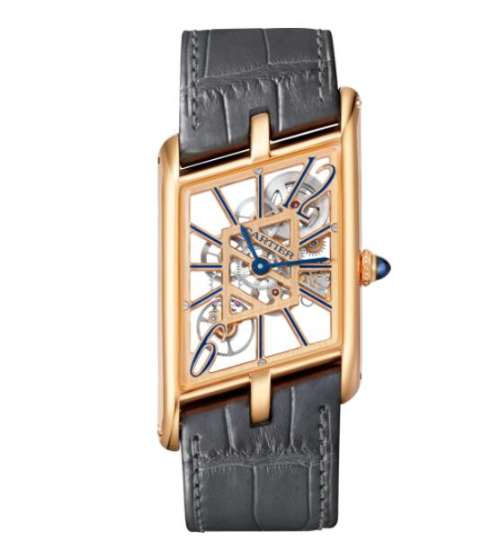 Replica Cartier Tank Asymétrique watch WHTA0011